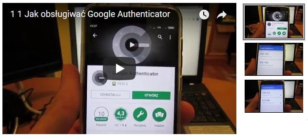 Jak obsługiwać Google Authenticator